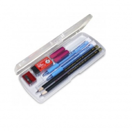 Faber-Castell Trip Grip Exam Set in Clear Box